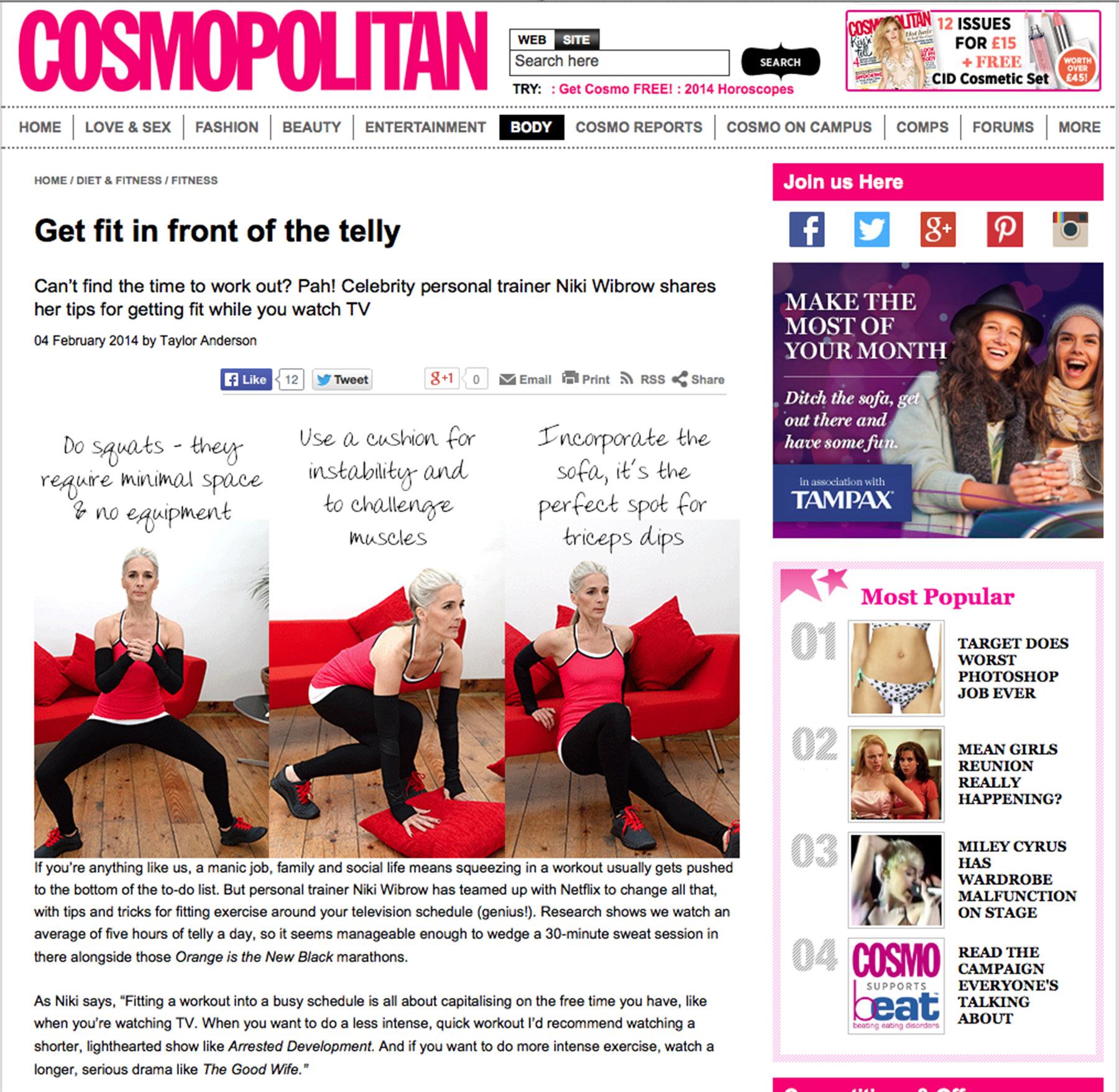 cosmopolitan online