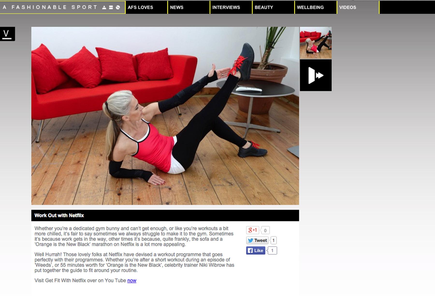 Fashionable Sport Online