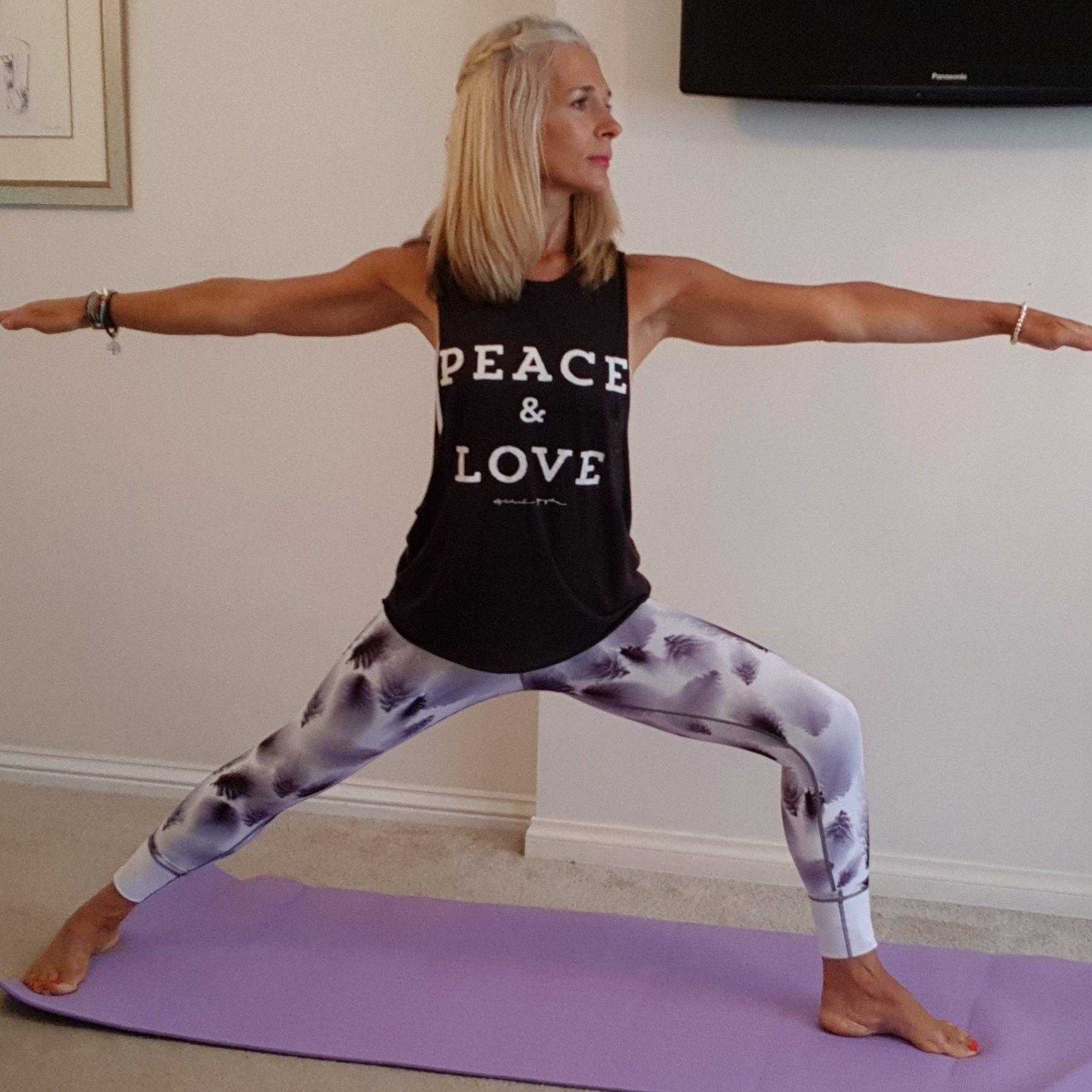 weekly yoga class